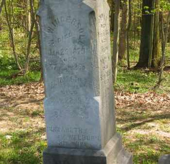 WELBURN INGERSOLL, ELIZABETH A. - Lorain County, Ohio | ELIZABETH A. WELBURN INGERSOLL - Ohio Gravestone Photos