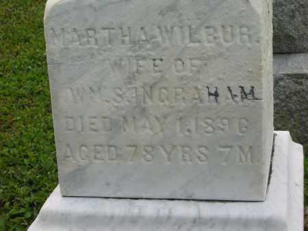 WILBUR INGRAHAM, MARTHA - Lorain County, Ohio | MARTHA WILBUR INGRAHAM - Ohio Gravestone Photos