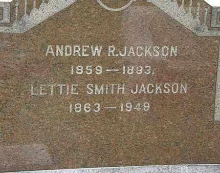 SMITH JACKSON, LETTIE - Lorain County, Ohio | LETTIE SMITH JACKSON - Ohio Gravestone Photos