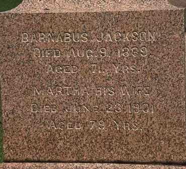 JACKSON, MARTHA - Lorain County, Ohio | MARTHA JACKSON - Ohio Gravestone Photos