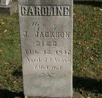 JACKSON, CAROLINE - Lorain County, Ohio   CAROLINE JACKSON - Ohio Gravestone Photos