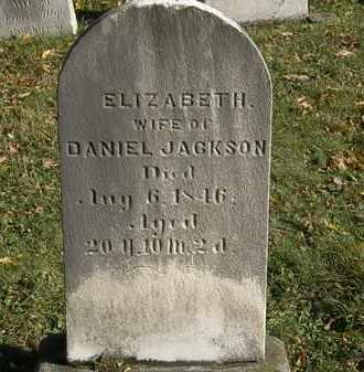 JACKSON, DANIEL - Lorain County, Ohio | DANIEL JACKSON - Ohio Gravestone Photos