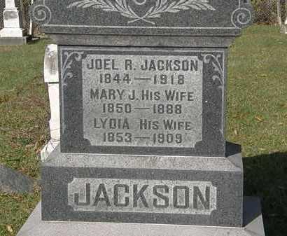 JACKSON, MARY J. - Lorain County, Ohio   MARY J. JACKSON - Ohio Gravestone Photos