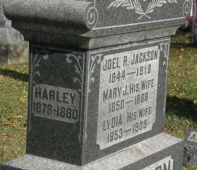 HARLEY, JACKSON - Lorain County, Ohio | JACKSON HARLEY - Ohio Gravestone Photos