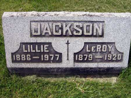 JACKSON, LILLIE - Lorain County, Ohio | LILLIE JACKSON - Ohio Gravestone Photos