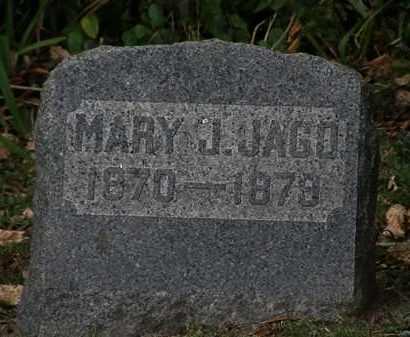 JAGO, MARY J. - Lorain County, Ohio | MARY J. JAGO - Ohio Gravestone Photos