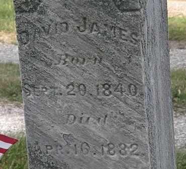 JAMES, DAVID - Lorain County, Ohio | DAVID JAMES - Ohio Gravestone Photos