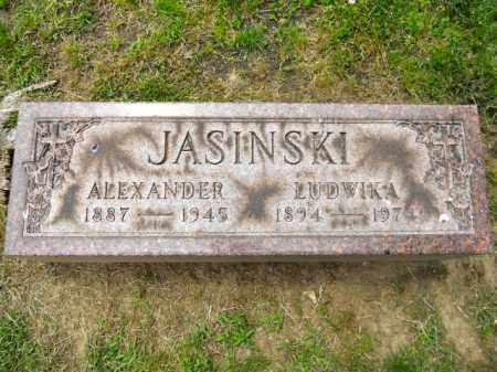 SENKEWIC JASINSKI, LUDWIKA - Lorain County, Ohio | LUDWIKA SENKEWIC JASINSKI - Ohio Gravestone Photos