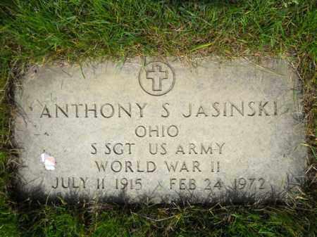 JASINSKI, ANTHONY S. - Lorain County, Ohio | ANTHONY S. JASINSKI - Ohio Gravestone Photos