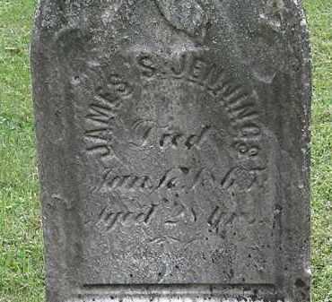 JENNINGS, JAMES S. - Lorain County, Ohio | JAMES S. JENNINGS - Ohio Gravestone Photos