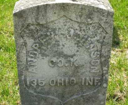 JOHNSON, ANDREW - Lorain County, Ohio   ANDREW JOHNSON - Ohio Gravestone Photos