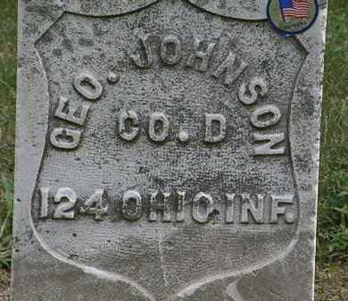 JOHNSON, GEO. - Lorain County, Ohio | GEO. JOHNSON - Ohio Gravestone Photos
