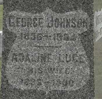LUCE JOHNSON, ADALINE - Lorain County, Ohio | ADALINE LUCE JOHNSON - Ohio Gravestone Photos