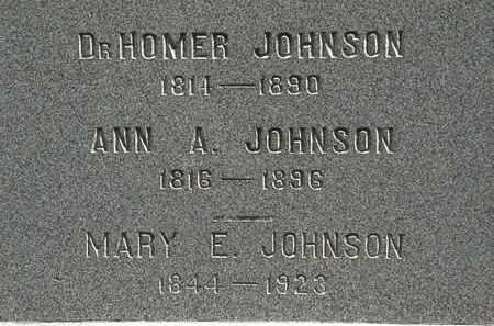 JOHNSON, ANN A. - Lorain County, Ohio | ANN A. JOHNSON - Ohio Gravestone Photos