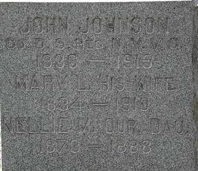 JOHNSON, MARY L. - Lorain County, Ohio   MARY L. JOHNSON - Ohio Gravestone Photos