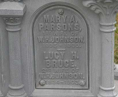 JOHNSON, MARY A. - Lorain County, Ohio   MARY A. JOHNSON - Ohio Gravestone Photos