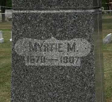 JOHNSON, MYRTIE M - Lorain County, Ohio | MYRTIE M JOHNSON - Ohio Gravestone Photos