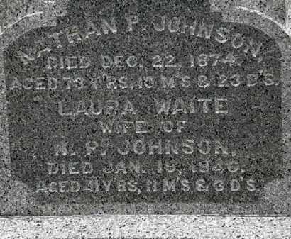 WAITE JOHNSON, LAURA - Lorain County, Ohio | LAURA WAITE JOHNSON - Ohio Gravestone Photos