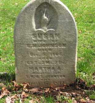 JOHNSON, MARTHA A. - Lorain County, Ohio | MARTHA A. JOHNSON - Ohio Gravestone Photos