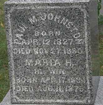 JOHNSTON, MARIA H. - Lorain County, Ohio | MARIA H. JOHNSTON - Ohio Gravestone Photos
