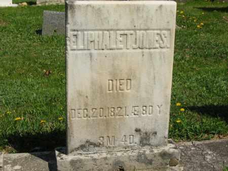 JONES, ELIPHALET - Lorain County, Ohio | ELIPHALET JONES - Ohio Gravestone Photos