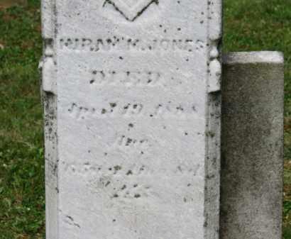 JONES, HIRAM M. - Lorain County, Ohio   HIRAM M. JONES - Ohio Gravestone Photos