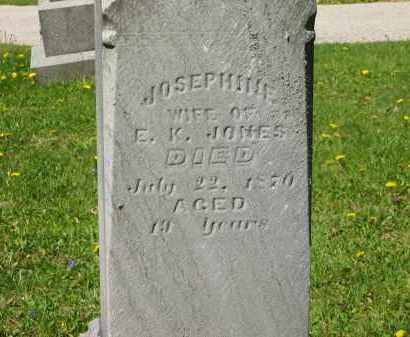 JONES, E.K. - Lorain County, Ohio | E.K. JONES - Ohio Gravestone Photos