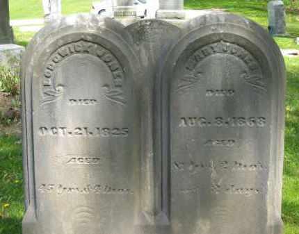 JONES, MARY - Lorain County, Ohio   MARY JONES - Ohio Gravestone Photos