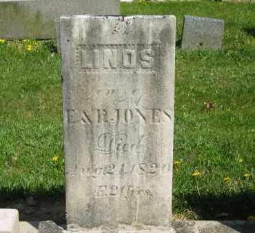 JONES, LINOS - Lorain County, Ohio | LINOS JONES - Ohio Gravestone Photos