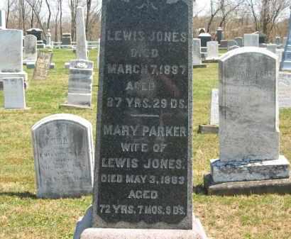 JONES, LEWIS - Lorain County, Ohio | LEWIS JONES - Ohio Gravestone Photos