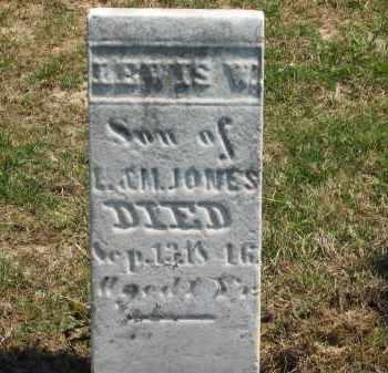 JONES, M. - Lorain County, Ohio | M. JONES - Ohio Gravestone Photos