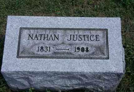 JUSTICE, NATHAN - Lorain County, Ohio | NATHAN JUSTICE - Ohio Gravestone Photos