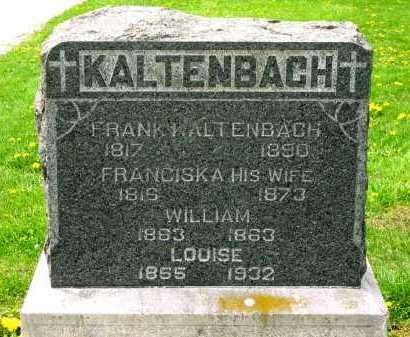 KALTENBACH, WILLIAM - Lorain County, Ohio | WILLIAM KALTENBACH - Ohio Gravestone Photos