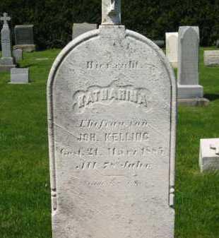 KELLING, KATHARINA - Lorain County, Ohio | KATHARINA KELLING - Ohio Gravestone Photos