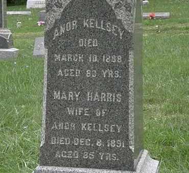 HARRIS KELLSEY, MARY - Lorain County, Ohio | MARY HARRIS KELLSEY - Ohio Gravestone Photos