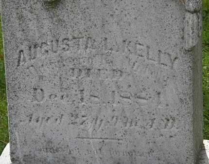 KELLY, AUGUSTA L. - Lorain County, Ohio | AUGUSTA L. KELLY - Ohio Gravestone Photos