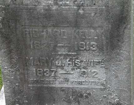 KELLY, MARY J. - Lorain County, Ohio | MARY J. KELLY - Ohio Gravestone Photos