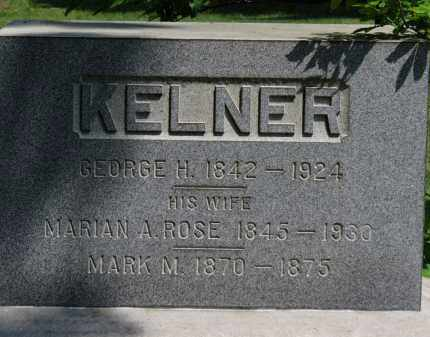KELNER, MARIAN A. - Lorain County, Ohio | MARIAN A. KELNER - Ohio Gravestone Photos