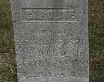 KELSEY, CAROLINE - Lorain County, Ohio   CAROLINE KELSEY - Ohio Gravestone Photos