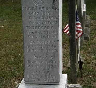 KELSEY, THEORORE F. - Lorain County, Ohio | THEORORE F. KELSEY - Ohio Gravestone Photos