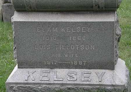 KELSEY, ELAM - Lorain County, Ohio | ELAM KELSEY - Ohio Gravestone Photos