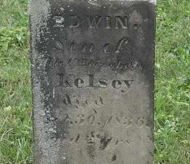 KELSEY, EDWIN - Lorain County, Ohio | EDWIN KELSEY - Ohio Gravestone Photos