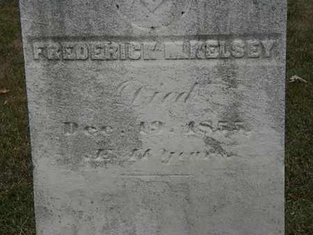 KELSEY, FREDERICK M. - Lorain County, Ohio   FREDERICK M. KELSEY - Ohio Gravestone Photos