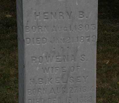 KELSEY, HENRY B. - Lorain County, Ohio | HENRY B. KELSEY - Ohio Gravestone Photos