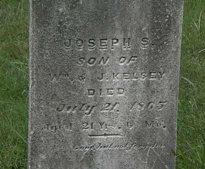 KELSEY, JOSEPH S. - Lorain County, Ohio | JOSEPH S. KELSEY - Ohio Gravestone Photos