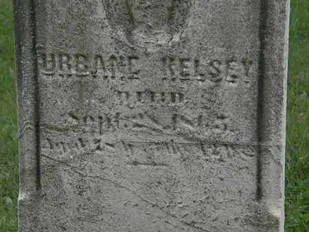 KELSEY, URBANE - Lorain County, Ohio | URBANE KELSEY - Ohio Gravestone Photos