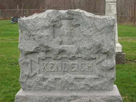 KENDEIGH, MONUMENT - Lorain County, Ohio   MONUMENT KENDEIGH - Ohio Gravestone Photos