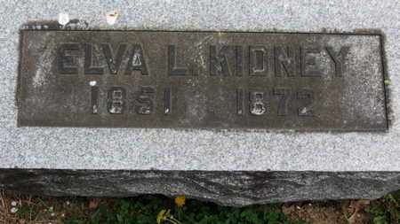 KIDNEY, ELVA L. - Lorain County, Ohio | ELVA L. KIDNEY - Ohio Gravestone Photos