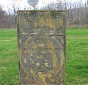 KINDEIGH, HENRY - Lorain County, Ohio   HENRY KINDEIGH - Ohio Gravestone Photos