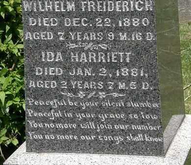 KISHMAN, IDA HARRIETT - Lorain County, Ohio   IDA HARRIETT KISHMAN - Ohio Gravestone Photos